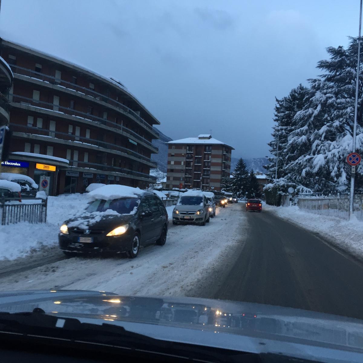 Il vademecum neve della città di Aosta - Bobine.tv
