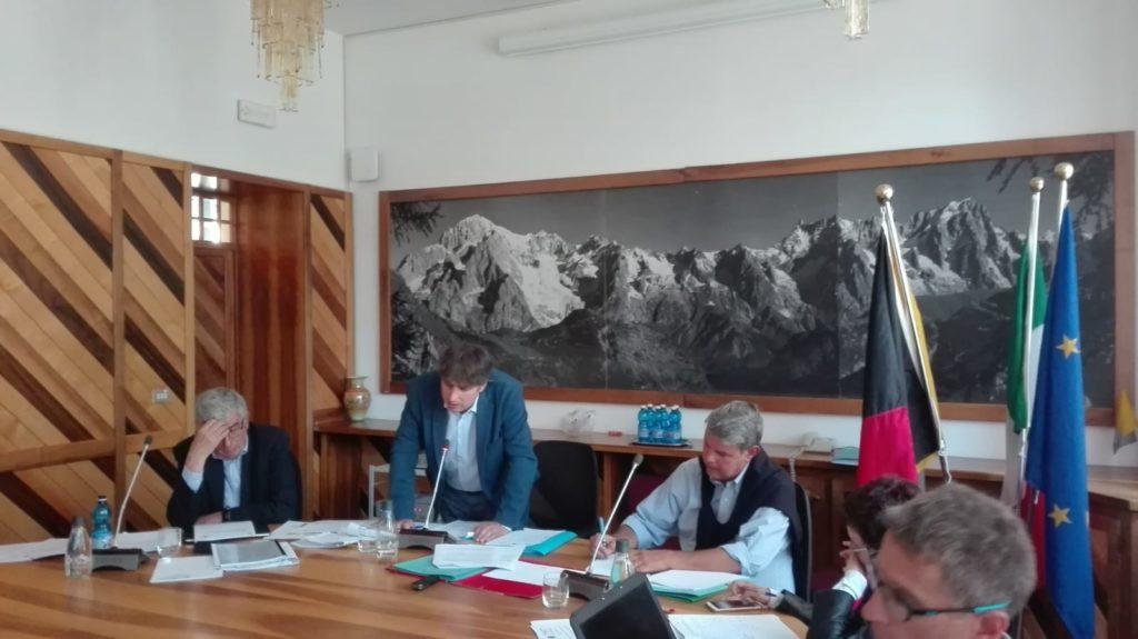 20190826 Consiglio comunale Courmayeur