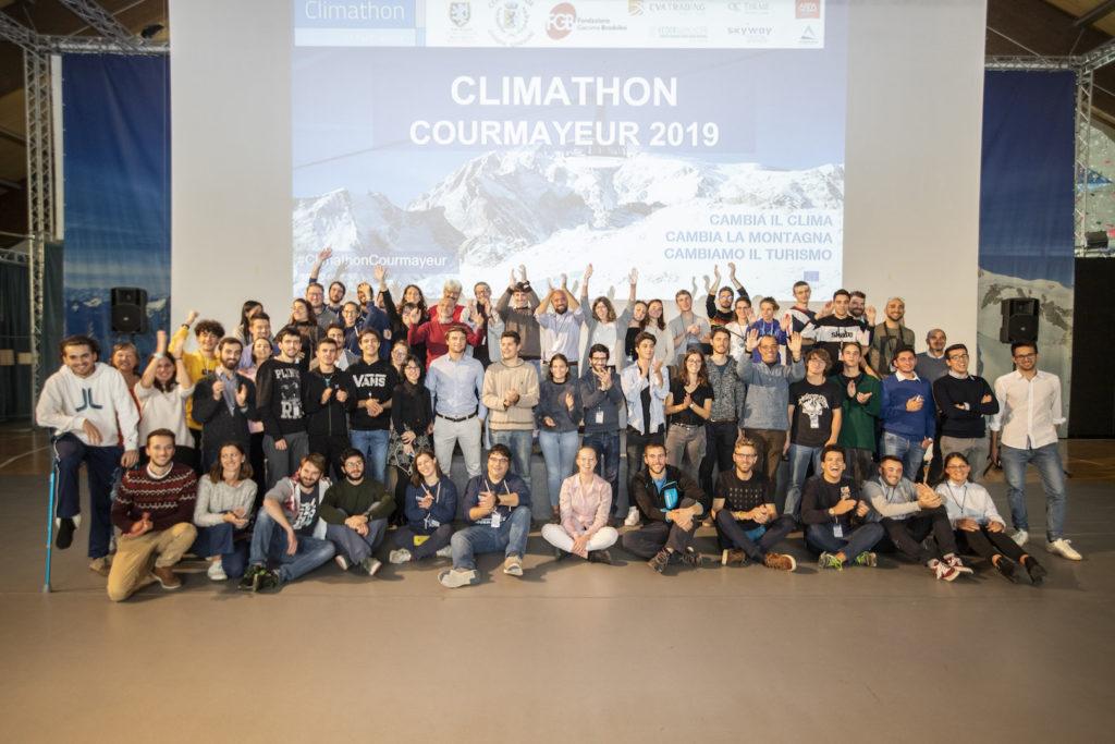 20191027 Climathon Courmayeur Tutti