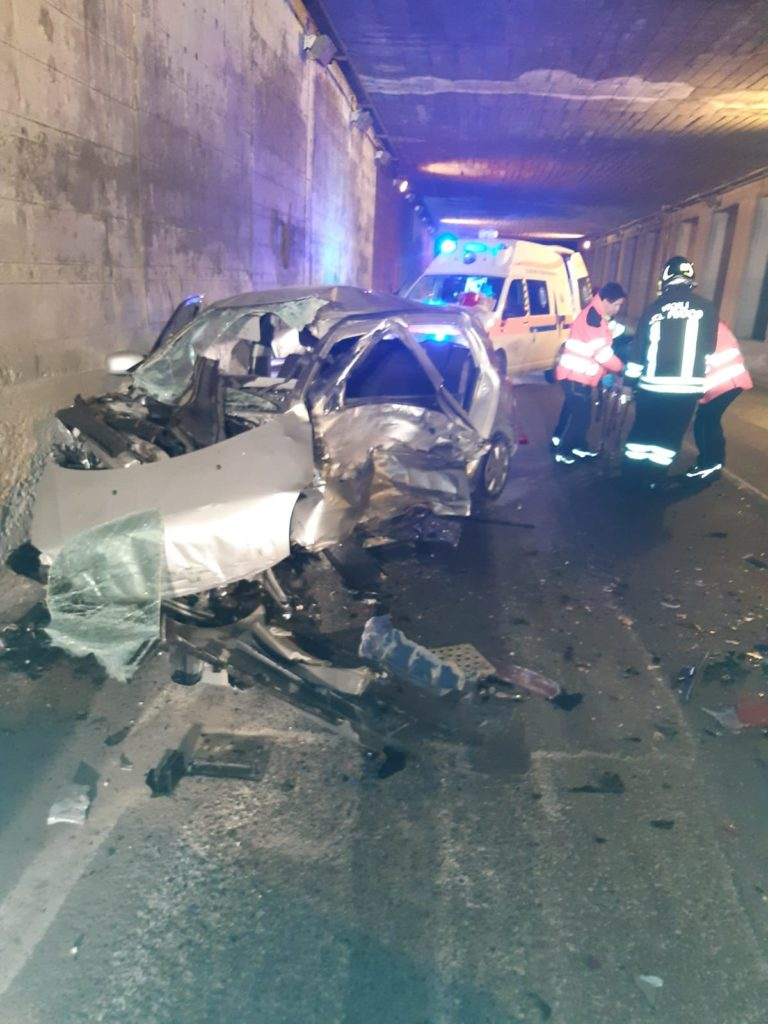 Grave incidente stradale a Covalou