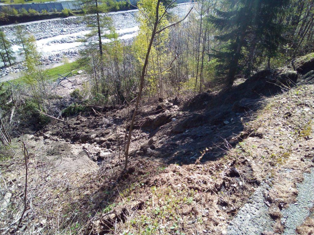 Val Veny Smottamento 4 Maggio 20203